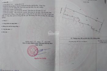 Bán đất mặt tiền Đường Phạm Văn Đồng Thành Phố Bà Rịa
