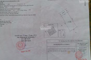Nền hẻm 9 Trần Vĩnh Kiết giá 500 triệu