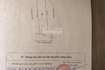 Bán đất: Đường Máng Nước - Vĩnh Khê - An Đồng - An Dương