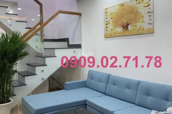 Bán nhà Đỗ Thúc Tịnh, p12, sát đường Quang Trung, DT: 4.03x10 (trệt, 1 lầu). Giá: 2.839 tỷ