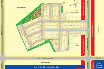 Cần ra gấp lô đất dự án An Điền mặt tiền đường hùng vương giá chỉ 600tr/nền LH: 0909 418 838