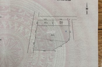Bán đất Đặng Xá 43,6m2, 2 mặt tiền đường 3,5m, LH: 0868674627
