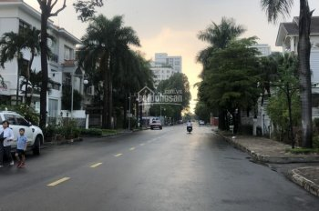 Định cư bán gấp biệt thự đơn lập Mỹ Hào, Phú Mỹ Hưng, giá 45 tỷ gần công viên