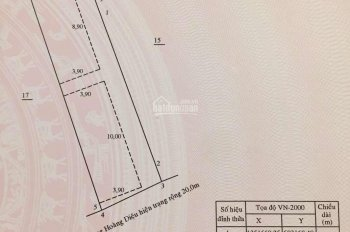 Bán nhà mặt tiền Số 38 đường Hoàng Diệu, Nha Trang, cạnh Bò Né 3 Ngon. 136,7m2, nhà 2T, 0917183396