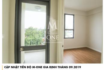 Chính chủ cho thuê căn hộ M - One Gia Định, 2 phòng ngủ, 69.30m2, nhà trống, giá 11 triệu/tháng