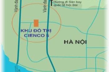 Bán liền kề - biệt thự khu ĐTM Cienco 5 Mê Linh, cơ hội đầu tư