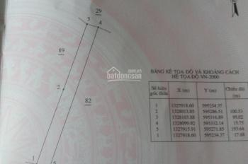 Đất sào Cam An, DT 3,2 sào, ngang 18m, cách đường nhựa 100m