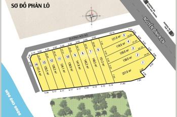 14 lô đất 3 mặt tiền Nguyễn Đình Kiên, xã Tân Nhựt, Bình Chánh, đất thổ cư gần bệnh viện Nhi TP