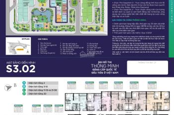Danh sách căn Studio 1PN (DT 28 - 30 - 35m2) giá rẻ nhất