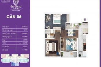 The Terra An Hưng, 74 m2 giá 1.72 tỷ, giá tốt nhất thị trường toà V3, LH 0906.900.626