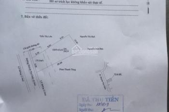 Bán đất đường Huỳnh Thị Chấu 4.5m nở hậu 6 x 29m = 146m2. P Hiệp An, TP Thủ Dầu Một, Bình Dương