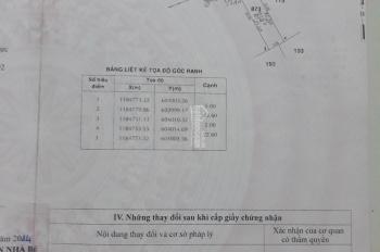 Bán gấp lô đất thổ cư hẻm Lê Văn Lương, Phước Kiển, 5x22m, giá 35tr/m2 chính chủ