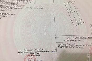 Bán lô góc 2 mặt tiền Phường Phước Tân, 5x23m
