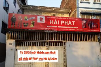 Cho thuê nhà mặt phố Lê Trọng Tấn, 130m2, làm mọi mô hình, tiện làm nhà hàng, giá thuê 50 triệu/th