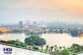 Bán CH A2 dự án HDI Tower 55 Lê Đại Hành, 2PN, DT 76.6m2, giá 80tr/m2, hotline CĐT: 0912 779 666