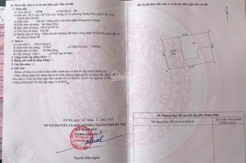 Bán đất số 2 ngõ 148 Trần Duy Hưng cách đường 1 nhà diện tích 100m2, giá: 16,2 tỷ LH: 096.9927.380