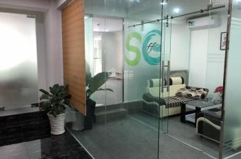 Văn phòng cho thuê 83m2 sẵn sàng trải thảm và máy lạnh sẵn