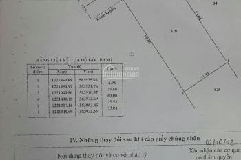 Bán đất chính chủ Củ Chi, xã Phạm Văn Cội, mặt tiền đường Bàu Lách, 25x110=2750m2 có 300m2 TC, 2 MT