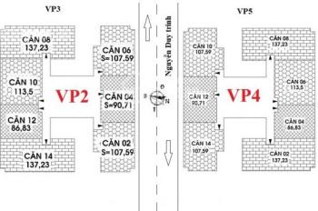 Chính chủ cần bán căn 2PN, tầng 19, chung cư VP2 - VP4 bán đảo Linh Đàm, ban công hướng Nam nhìn hồ