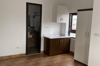 Cho thuê căn hộ mini đầy đủ giường tủ, điều hòa tủ bếp. DT 28m2 cách mặt đường Trần Duy Hưng 50m