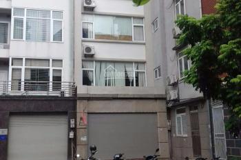 Cần cho thuê nhà mặt phố Trung Kính, Cầu Giấy. DT 90m2 x 5 tầng, MT 6m, có thang máy, giá 45tr/th