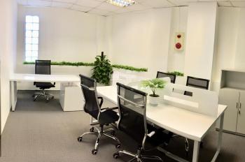 Cho thuê văn phòng trọn gói bao điện nước Ba Đình, tòa nhà 12 tầng, phòng 4 người, giá từ 7tr/th