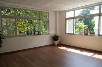 Văn phòng trung tâm Phú Mỹ Hưng, căn góc 2 mặt tiền, như hình sàn gỗ, bao phí, nước, wifi, vệ sinh