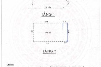 Bán nhà 115 Lê Trọng Tấn, Tân Phú, 38m2, giá 2.55 tỷ TL