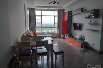 Cho thuê căn hộ 2PN, 2WC, DT 100m2, full nội thất, view hồ bơi, giá 10 triệu/tháng, LH 0909896900