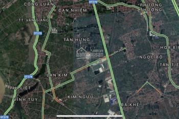 Bán 3 lô đất TC mặt đường ấp Kim Ngưu, Tân Tiến, Văn Giang, Hưng Yên - cơ hội sinh lời cao
