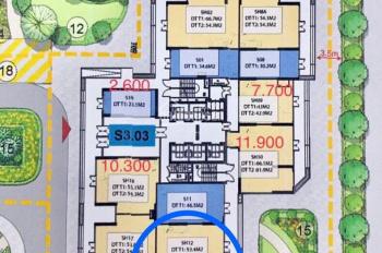Chính chủ cần bán 2 Shop chân đế 2 tầng Vinhomes Smart City tòa S3.03 căn 12-12a-15, Sapphire 3