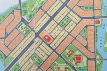 Bán đất lô góc 2 mặt tiền KDC Phong Phú 5, diện tích 9*19m, giá: 41 triệu/ m2, 0948678557