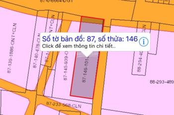 Cần bán gấp mảnh đất 2 mặt tiền đường Hùng Vương, có HH 2% cho môi giới