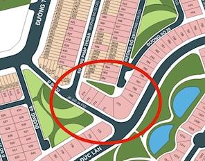 Cần bán lô đất biệt thự đối diện công viên khu dân cư An Phú An Khánh Quận 2