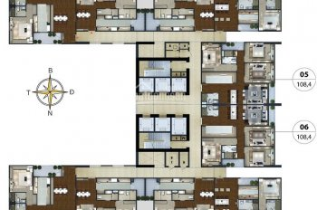 Bán căn hộ Ngoại giao đoàn bàn giao full nội thất view Starlake giá 31 triệu/m2