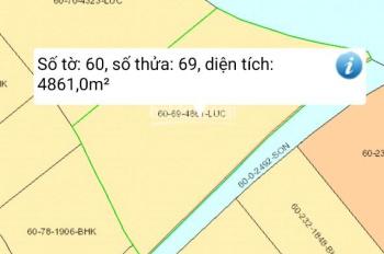 Cần bán miếng đất Phước Khánh, Nhơn Trạch, mặt tiền sông lớn làm nhà vườn thoáng mát, LH 0931100811