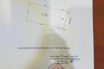 Bán nhả ngõ 35 Cát Linh, Đống Đa, HN. DT 68 m2, MT 5,2 m