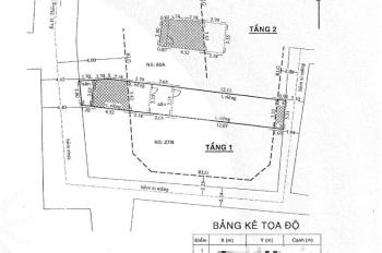 Bán đất hẻm 276 đường Thống Nhất, P16, Gò Vấp