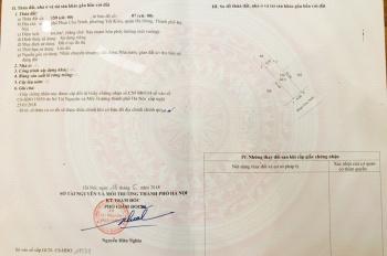 Chính chủ bán 64m2 nhà phố Phan Chu Trinh, Phường Yết Kiêu, Quận Hà Đông, giá 3,8 tỷ. LH 0949165130