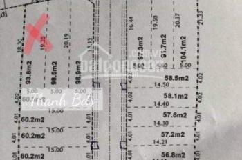 Bán đất ngay KDC Hồ Văn Long Bình Tân giá 1 tỷ 3 đã có sổ, xây tự do, DT 5x20m, LH 0932619291