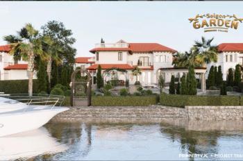 Biệt thự nhà vườn Sài Gòn Garden Quận 9 gần Vin City chỉ từ 21tr/m2. CK1 - 18%, góp 48th,0901383993