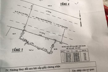 Bán căn nhà mặt tiền đường Nguyễn Bỉnh Khiêm, phường 1, quận Gò Vấp, giá 9.5 tỷ