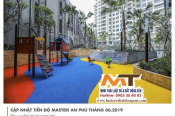 Minh Thái Luật sư và BĐS nhận ký gửi, mua bán cho thuê căn hộ Masteri An Phú, Quận 2. LH 0903358083