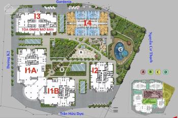 Cắt lỗ CH 3PN, view bể bơi: CT4 - 1606 (103m2) tại Iris Garden Mỹ Đình chỉ 3 tỷ. 0919130482