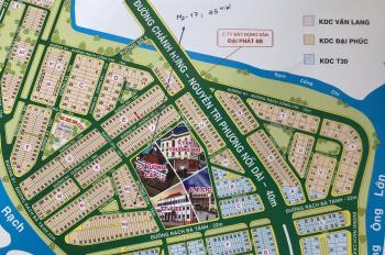 Chính chủ bán nền Đại Phúc đường Số 7 lộ giới 16m Lô M2 - 17 giá 46tr/m2, hướng ĐB LH: 0908444222