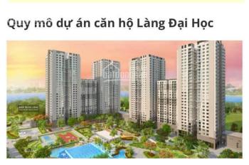 Hưng thịnh mở bán căn hộ làng đại học Quốc Gia giá 1,2tỷ/căn CK 1% đặt chỗ trước. CĐT 0981520102