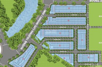 Bán lô H mặt tiền đường 20m, Centana Điền Phúc Thành, 90m2 giá 3.6 tỷ, sổ riêng xây tự do