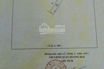 Bán nhà đất mặt đường Bằng B, Hoàng Liệt, KD, ô tô vào nhà, đường 6m, 82m2, thông tin chuẩn 100%
