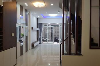 Bán nhà 1 trệt 2 lầu hẻm xe hơi đường Số 27, Phường Tân Quy, Quận 7. Mới đẹp, nội thất cao cấp