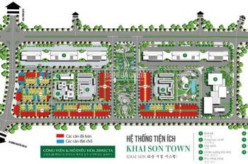Cần thanh khoản gấp shophouse Khai Sơn Town, vị trí cực đẹp